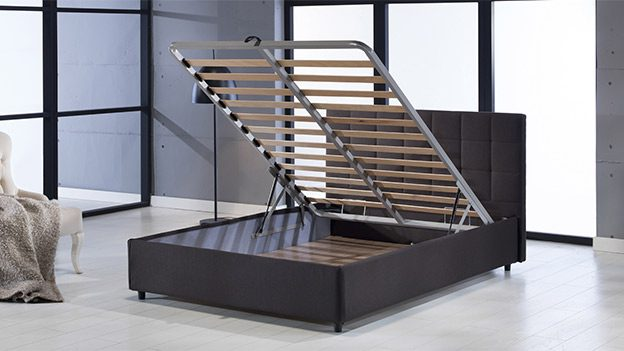 Manila Storage Bed (Urge Brown)
