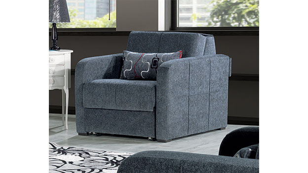 Fit - Chair Bed - Gray