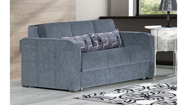 Fit - Loveseat Bed - Gray