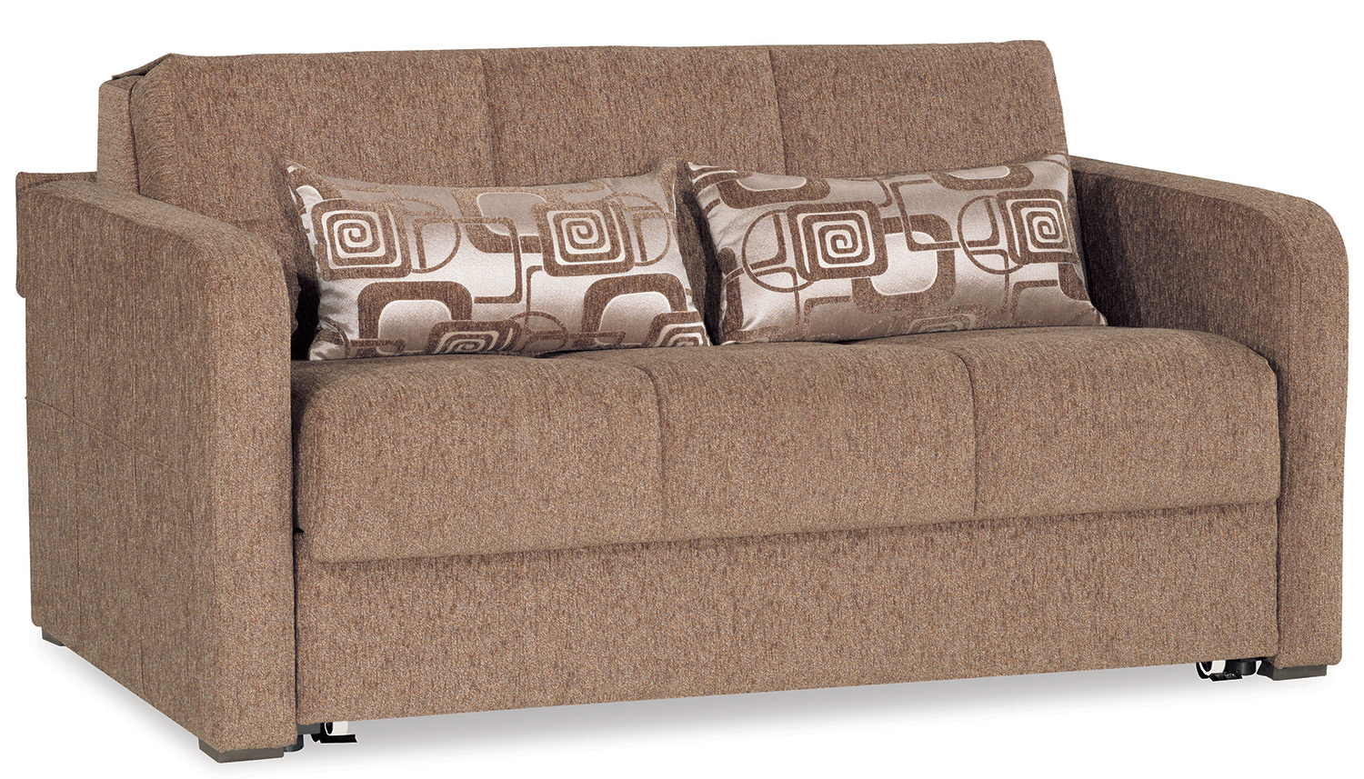 Fit - Loveseat Bed - Brown