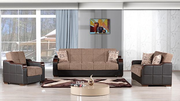 Metropol Sofabed - Brown