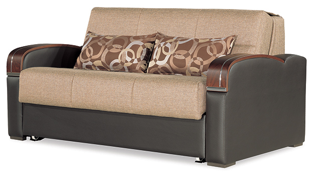 Oslo - Loveseat Bed - Brown