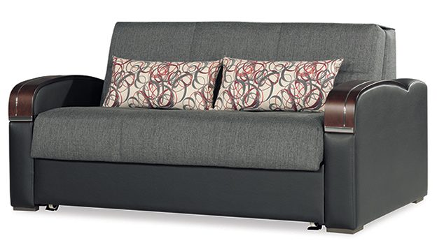 Oslo - Loveseat Bed - Gray
