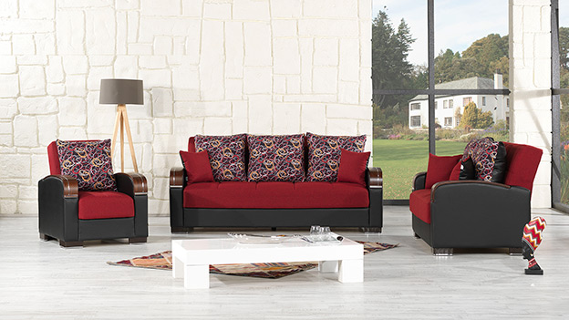 Pegasus Sofabed - Red