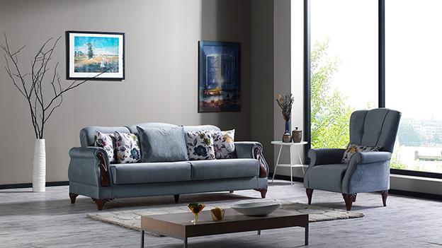 Elegant Sofabed - Elite Gray