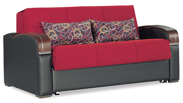 Oslo - Loveseat Bed - Red