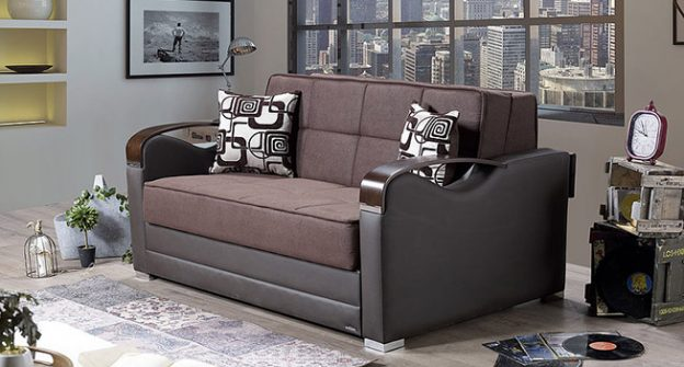 Sevilla Loveseat Bed (Vintage Chocolate)