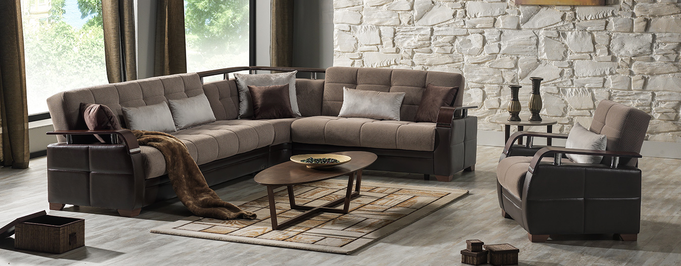 Dogal Sectional (Simena Marisa Brown)