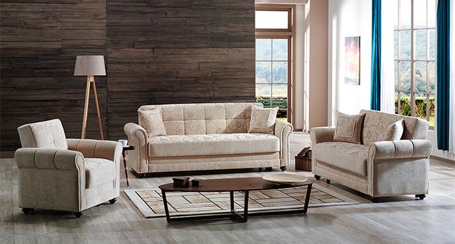 Evita sofabed beige