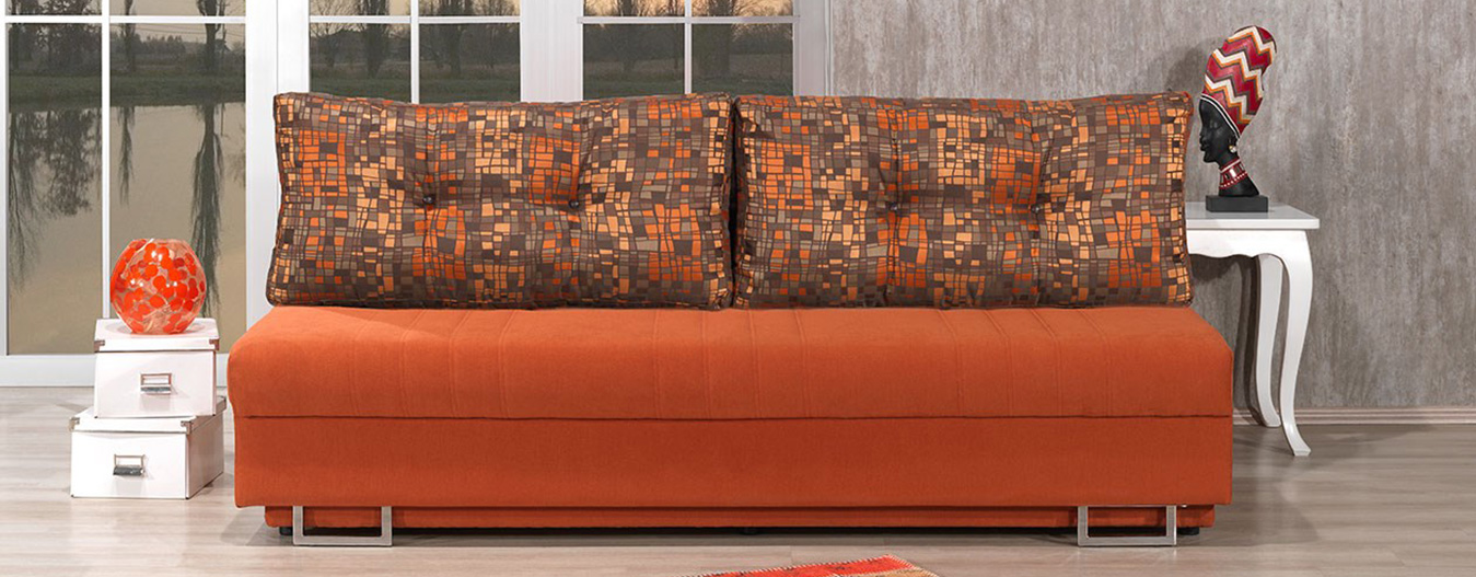 Havana Queen Sofabed - Orange
