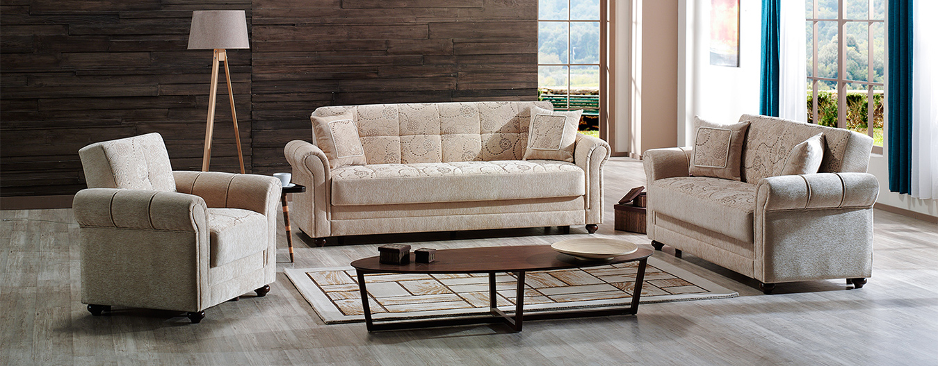 Evita sofa-bed Beige