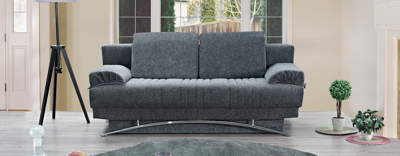Fontana Sofabed - Gray (Queen Size)