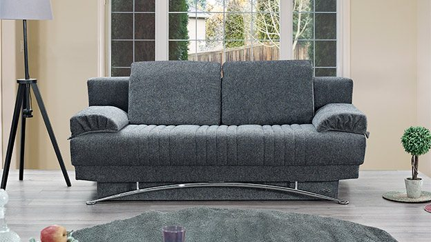 Fontana Sofa Bed - Gray (Queen Size)