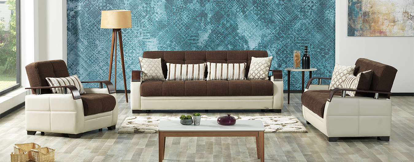 Dogal Sofabed (Royal Brown)