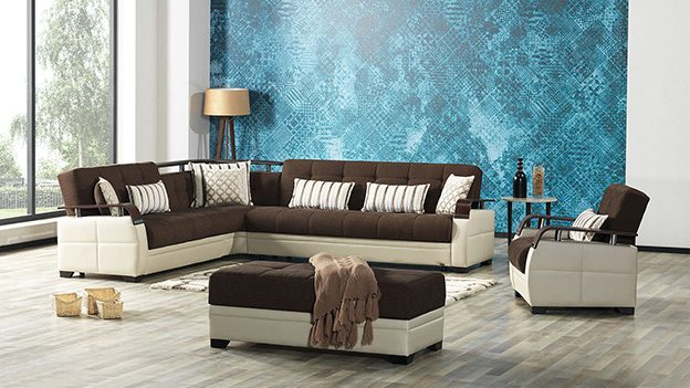 Dogal Sectional (Royal Brown)