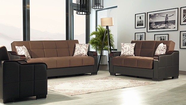 Metropol Sofabed - Valor Chocolate