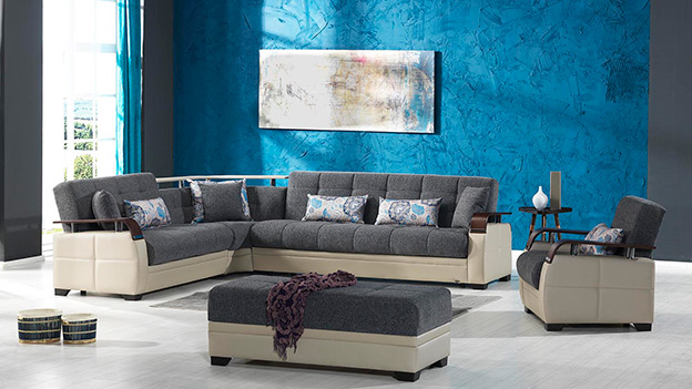 Dogal Sectional (Nordby Gray)