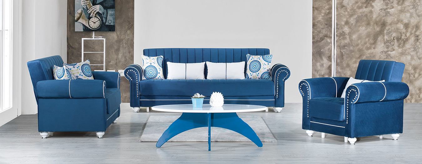 Monroe Sofabed – Riva Dark Blue
