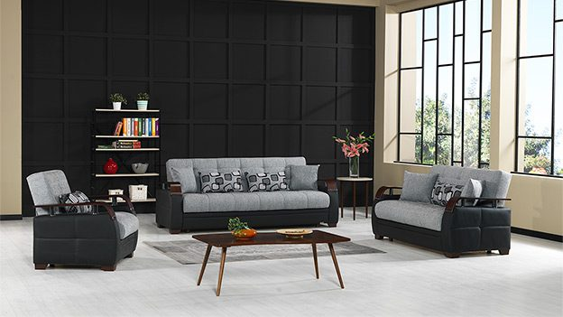 Dogal Sofabed (Stone Black)