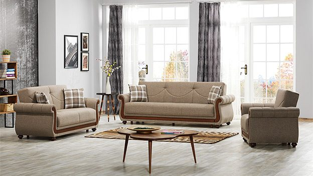 Espina Sofabed - Gina Light Brown