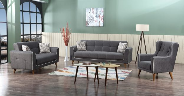 Astor sofabed gray