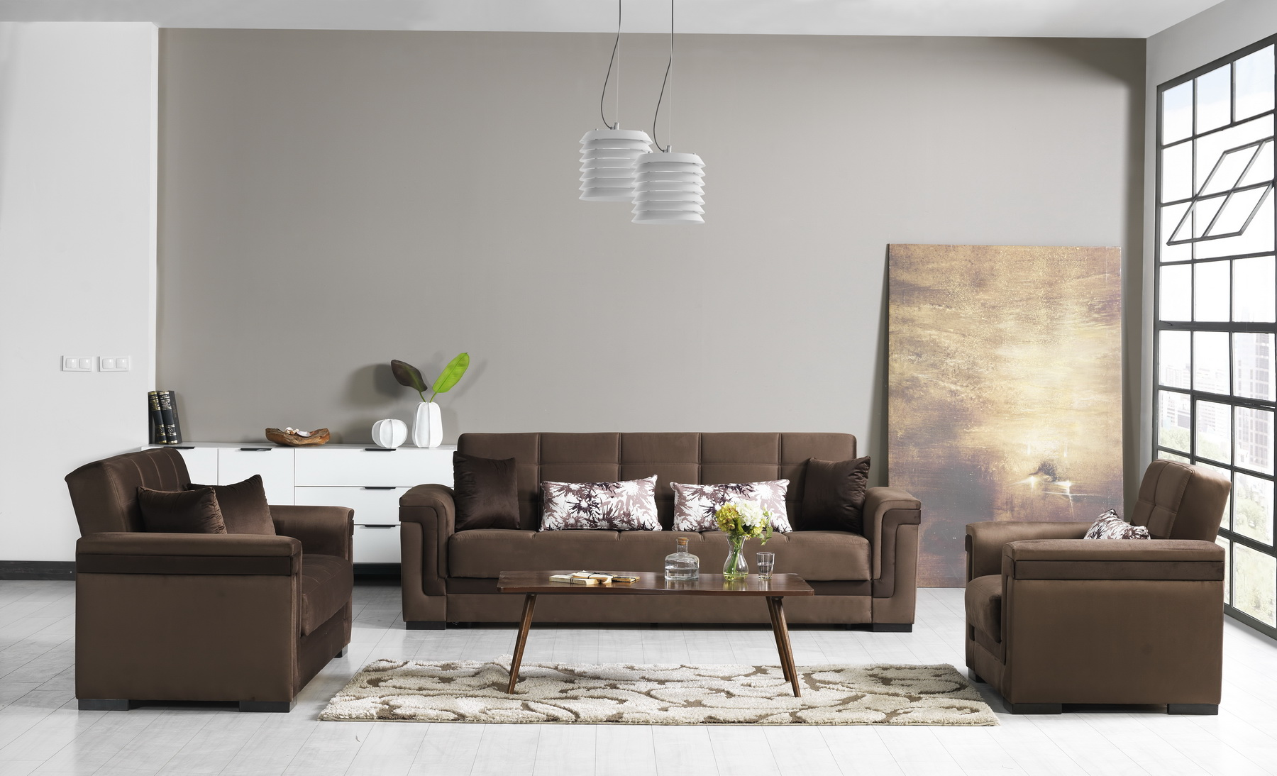 Bravo Sofabed Otter Brown
