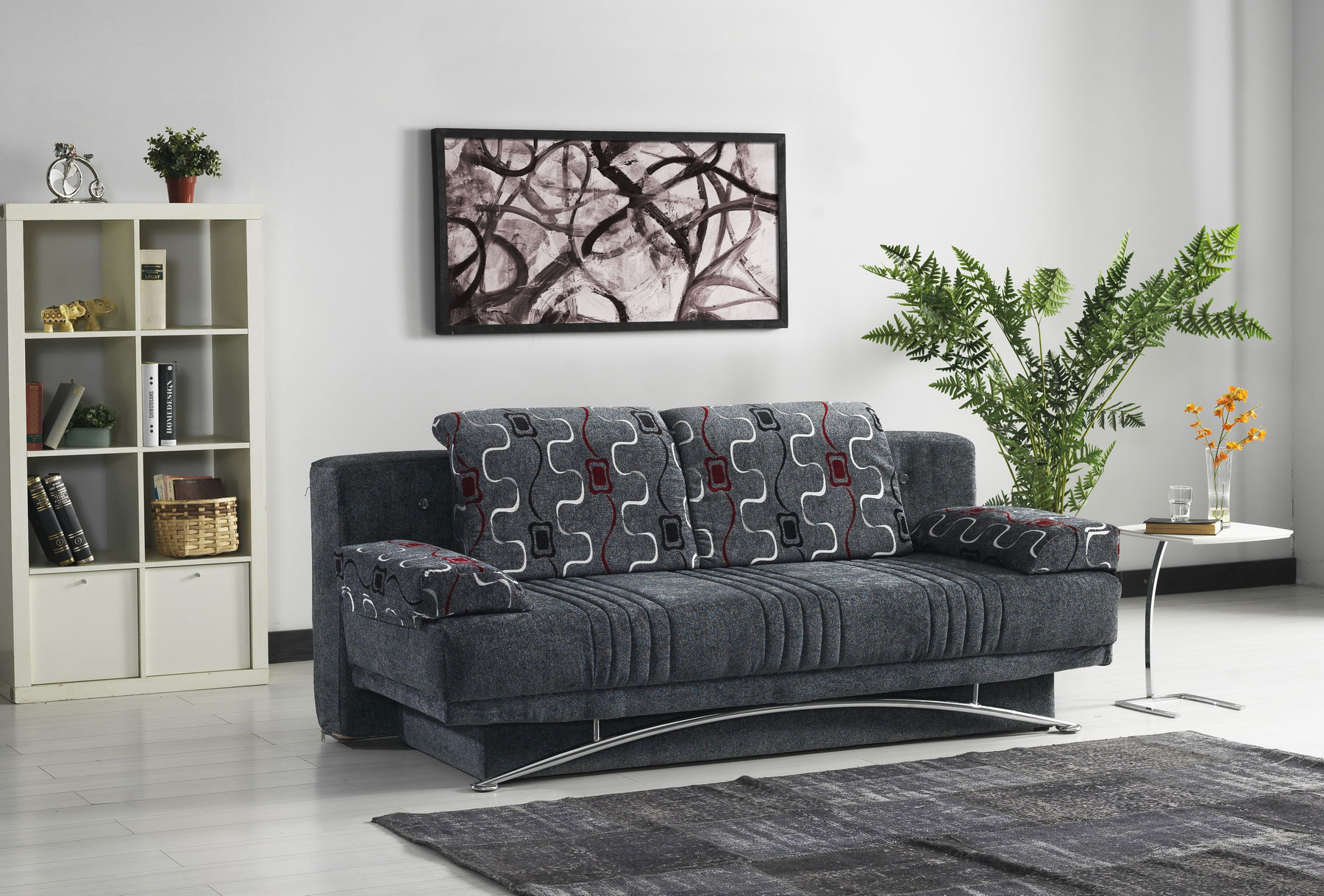 Fontana gray sofabed queen size