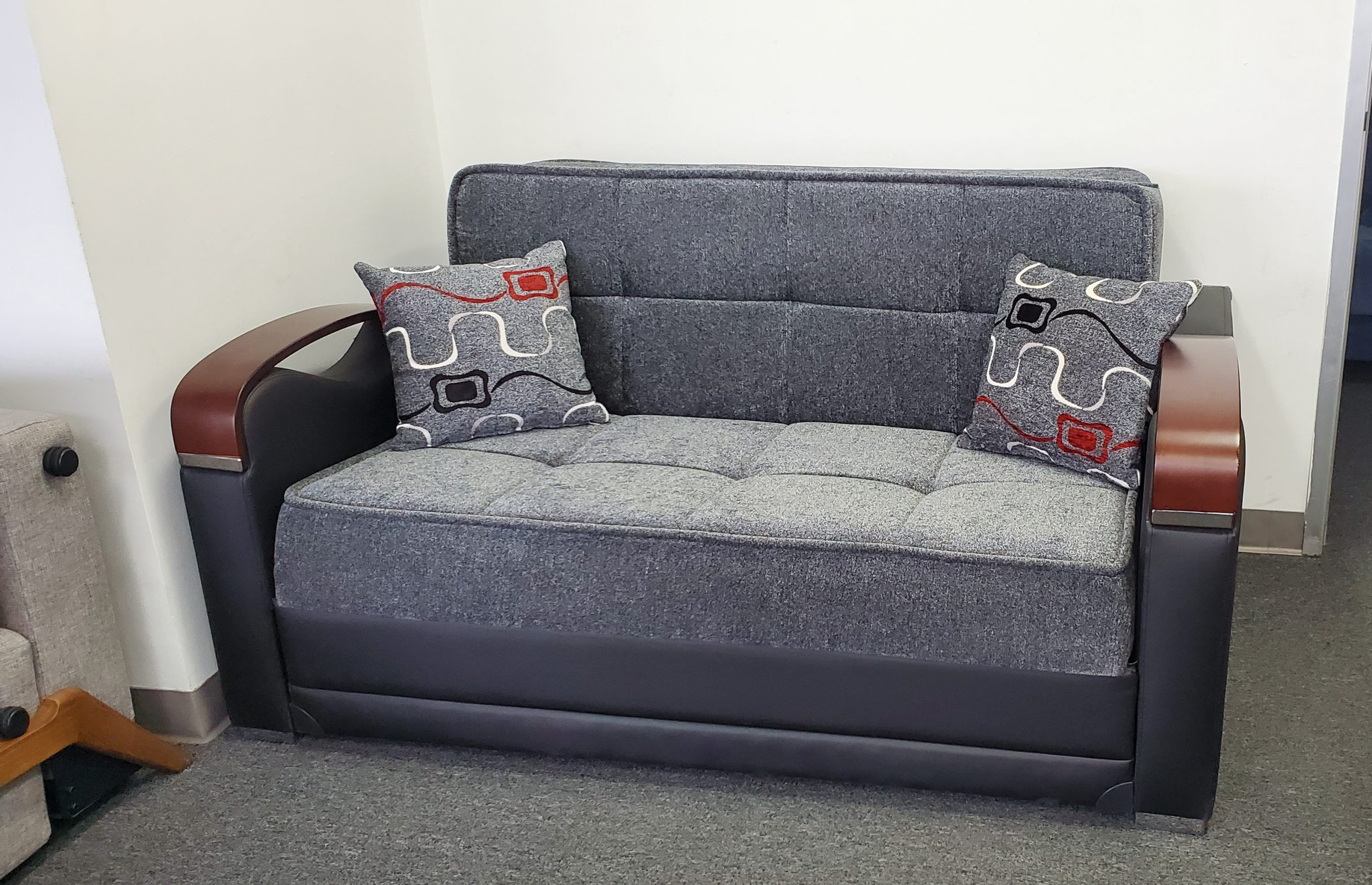 Sevilla Loveseat bed in sport gray